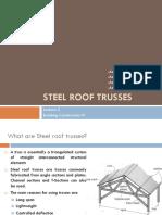 Steel Roof Trusses 2
