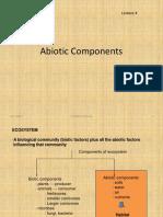 20171108091132Topic 4 Abiotic Factors