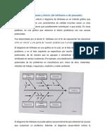 Unidad 3 Gráfica de Pareto y Diagrama de Ishikawa