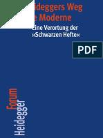 Hans-Helmuth Gander, Magnus Striet-Heideggers Weg in Die Moderne_ Eine Verortung Der »Schwarzen Hefte«-Vittorio Klostermann (2016)