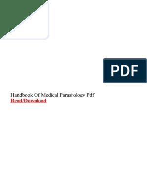 Handbook of Medical Parasitology PDF   Medical Microbiology