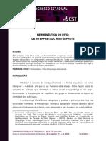 Hermeneutica do Rito - De Interpretado a Interprete