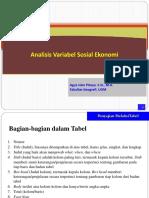 Analisis Data Statistik