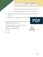 Geometria - mini testes 11 ano