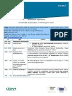 Sesiunea de Informare Posibilități de Finanțare a Tehnologiilor Verzi