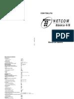Manual Sistema Centralita Netcom Básica 4-8 Telefónica