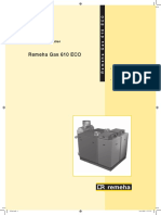 Gas 610 Eco Technical Information