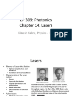 Lecture 10 Lasers I