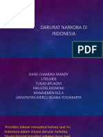 Darurat Narkoba Di Indonesia