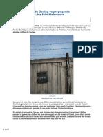 2017-Vrais Chiffres Goulag vs Propagande Anticommuniste-faits Historiques