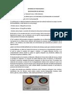 Informe de Toxicología II Metanol