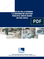 Paso Para Peces Azud Salinas