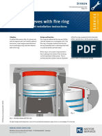 Cylinder Sleeves With Fire Ring - Design Function and Installation Instructions
