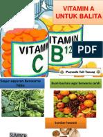 Vitamin a Untuk Balita