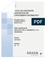 Hacia Una Excelente Adquisicion Del Conocimiento Matematico2