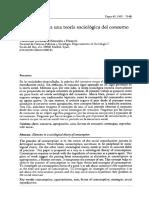 Callejo, Javier - Elementos para una teoría sociológica del consumo.pdf