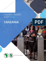 AfDB Tanzania Country Results Brief