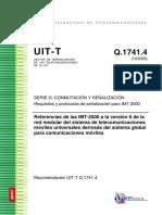 Requisitos y protocolos de señalización para IMT-2000