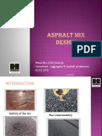 Asphault Mix Design