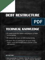 Debt Restructure