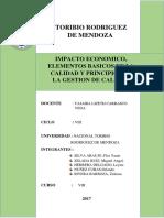 Trabajo Impacto Economico y Gestion de Calidad