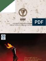 Gidf Brochure