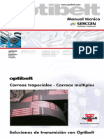 Catalogo Correas Transmision Optibelt