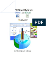 Mathematics With Word and Excel