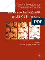 Access to Bank Credit and SME Financing