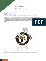 3-393-R001 R002 Dispositivo de Relleno de Gas SF6 C1351