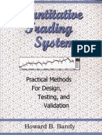 Howard Bandy - Quantitative Trading Systems. Practical Methods for Design, Testing and Validation