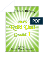 Reiki Usui gr.1