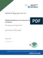 Estudio ONU evasión fiscal
