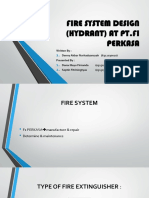 Fire System Design (Hydrant) at Pt