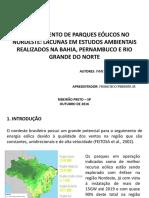 CBAI - Lacunas - Francisco Pimenta