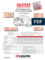 意大利casappa(凯斯帕)股份公司 Strada 定量斜轴式柱塞泵选型样本