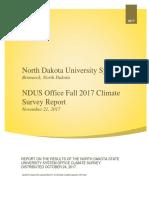 2017 Climate Survey Report
