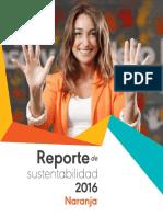 Reporte de Sustentabilidad Tarjeta Naranja