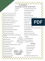 Lista de Útiles Escolares Santa Rosa