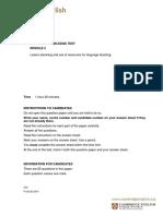 269817 Tkt Module 2 Sample Paper Document