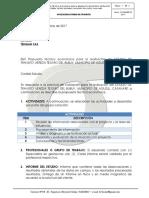Propuesta Economica Estudio de Transito Aguazul
