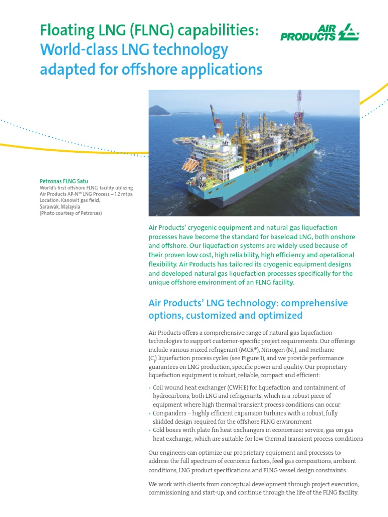 En Lng Air Products Floating Lng Plant Capabilities