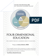 Four Dimensional Education