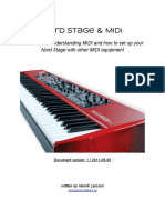 Nord Stage and Midi