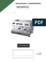 Maquina de Cafe Monroc Pulser 2 Grupos 389