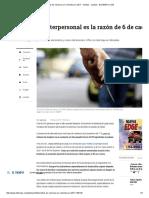 Cifras de Violencia en Colombia en 2017 - Delitos - Justicia - ELTIEMPO