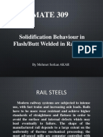 Solidification Behaviour