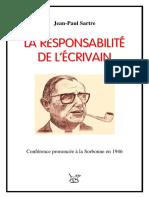 Jean-Paul Sartre - La responsabilité de l'écrivain.pdf
