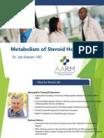 Dr.Klassen Metabolism of Steroid Hormones