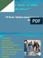 Como hacer un taller educativo